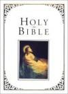 The Cornerstone Family Bible - AV Family Red Letter Bible, White