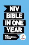 NIV Alpha Bible In One Year (Pack of 10)