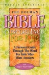 White Tracey Wilson - HOLMAN BIBLE CONCORDANCE FOR KIDS
