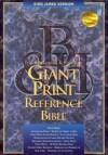 KJV GIANT PRINT REF INDEX BLUE BLTH