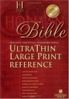Holman Bible Editorial Staff (Editor) - Holman Bible Ultrathin Large Print Reference
